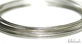 59 meter Sterling zilverdraad ca. 0,25mm half hard