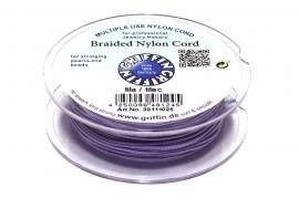 LILAC: Griffin 'braided' nylon koord (per 5 rollen)