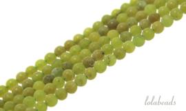 10 strengen Jade kralen rond mini ca. 2mm