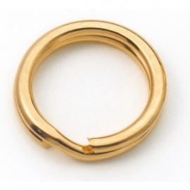 Griffin gold plated split ring 5mm