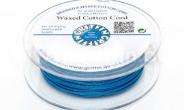 BLUE: Griffin wax koord