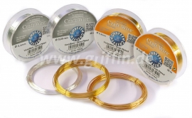 Griffin craft wire: Gold plated