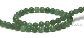 10 strengen Green Aventurien kralen rond ca. 6mm (77)