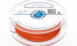 ORANGE: Griffin wax koord