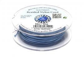 BLUE: Griffin 'braided' nylon koord (per 5 rollen)