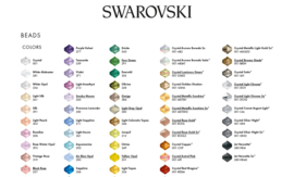50 stuks Swarovski elements 1122MM  - 12mm