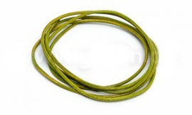 APPLE GREEN: Griffin koord leer 1,3mm / 1 meter