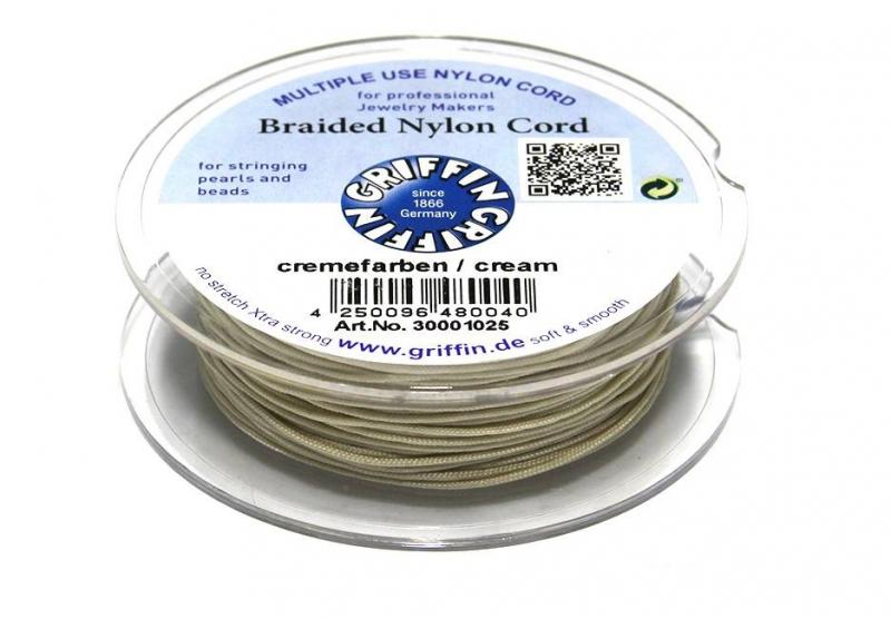 CREME: Griffin 'braided' nylon koord (per 5 rollen)