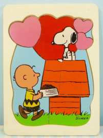 Vintage Fisher Price Peanuts puzzel - jaren 70