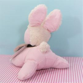 Happy Horse Vintage Collectie knuffel - roze konijn 15 cm