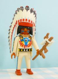 Playmobil Indianen opperhoofd   - Playmobil Western