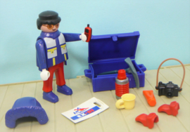 Playmobil 3194 / 3193 figuur poolexpeditie - Playmobil avontuur
