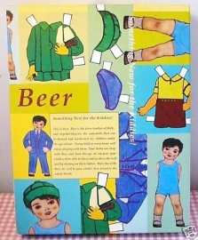 Jongens aankleedpop Beer Nieuw
