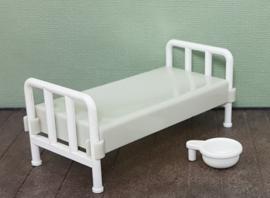 Vintage Playmobil 3404 bed ziekenhuis / western - 1976