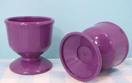 Bema Zierikzee plastic eierdopjes - paars