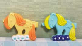 My Little Pony vintage Jewelery Box speldjes - Hasbro 80's