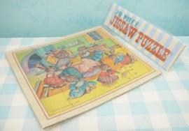 Mini puzzel `Konijntjes` - Mini jig saw puzzle