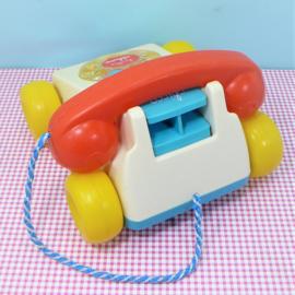 Vintage Chicco speelgoed telefoon
