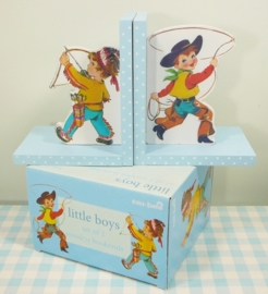 Boekensteunen `Little Boys`