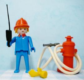 Vintage Playmobil set no. 3367 brandweer - 1974
