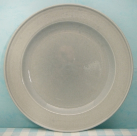Boch Belgium - bord grijs 21 cm