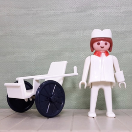 Vintage Playmobil 3362 ziekenhuis verpleegster - 1976