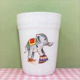 Kahla vintage kinderservies melkbeker - porselein