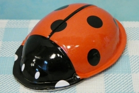 Blikken Lieveheersbeestje klikker - Tin Toy clicker