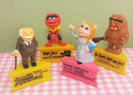 Vintage Schleich Muppet figuren 1980 - Miss Piggy - Animal