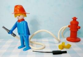 Vintage Playmobil 3367 brandweer - 1974