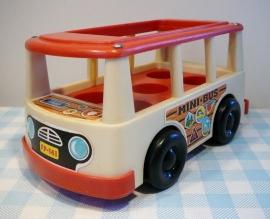 Vintage Fisher Price Mini Bus 1969