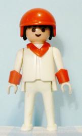 Vintage Playmobil racer / karter uit set 3575 - figuur