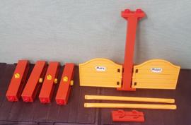 Playmobil 3120 hekken en onderdelen - Playmobil paarden manege