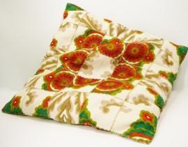 Retro 70`s kussen - Seventies design pillow