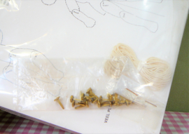 Vintage HEMA papieren trekpoppen - Nieuw