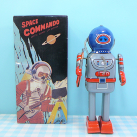 Blikken speelgoed Robot - Tin Toy Space Commando