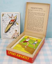 Papita Sportkwartet - vintage kwartetspel