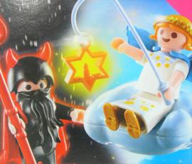 Playmobil special plus 5411 Halloween figuur en kerstengel