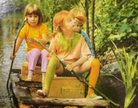 Pippi Langkous vintage puzzel 1972