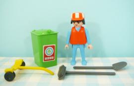 Playmobil 7516 vuilnisman - Playmobil vuilniswagen