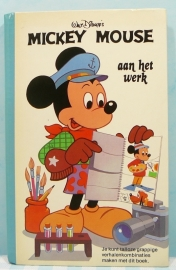 Walt Disney's  Mickey Mouse aan het werk  - Mulder 1979