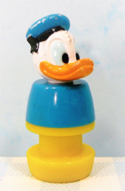 Vintage Fisher Price Little People Disney Donald Duck figuur