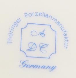 Eerste Communie servies - ontbijtbord Thuringer Germany