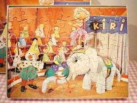 Kiri de Clown puzzel 1973