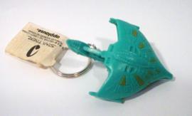Star Trek set vintage figuren / sleutelhangers - Applause 1994