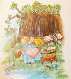 Winkie en Wolletje Wopsie vintage kinderboekje