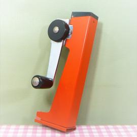 Retro blikopener oranje - jaren 70
