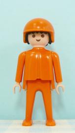 Playmobil 3524 vintage figuur Hella autorace