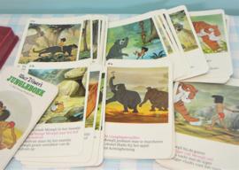 Vintage Walt Disney's Jungle Boek kwartet - HEMA