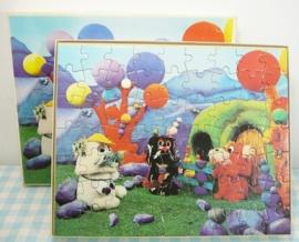 Woefs en de Laamaars puzzel 1970